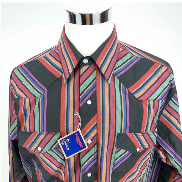 cce2e845d9cf Wrangler Shirts | Mens Western Style Cowboy Cut X Long Tail | Poshmark